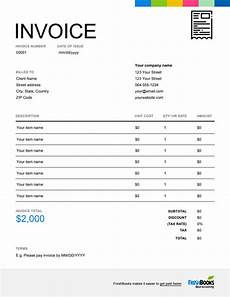 Free Printable Invoices Online Printable Invoice Template Free Download Send In Minutes
