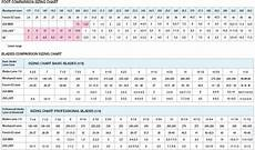 Junior Skates Size Chart Sizing Charts Risport Usa Skates Inc