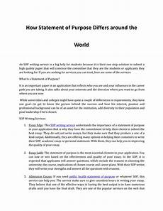 Essay Statement Of Purpose Discover How A Statement Of Purpose Differs Around The