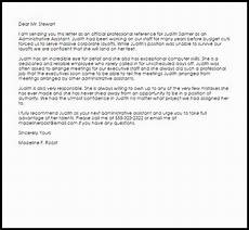 Letter Of Recommendation Administrative Assistant 30 Letter Of Recommendation Administrative Assistant In