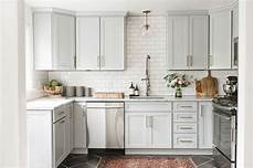 Kitchen Light Grey Cabinets 21 Ways To Style Gray Kitchen Cabinets