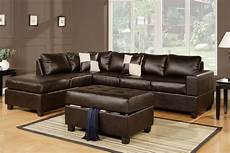 the advantages of a brown leather sofa
