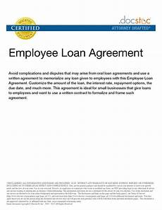 Company Loan To Employee Agreement Personal Loan Repayment Agreement Template Koikoikoi