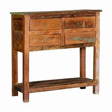Rustic Wood Sofa Table 3d Image by Frontier Rustic Reclaimed Wood Console Table W Drawers
