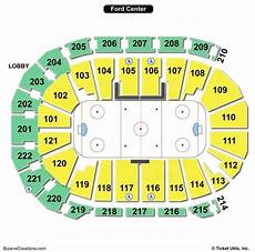 Ford Center Seating Chart With Rows Ford Center Seating Chart Seating Charts Amp Tickets