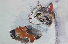 aquarell malen vorlagen angenehm tiere in aquarell peggy