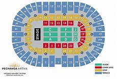 Pechanga Casino Seating Chart Pechanga Arena San Diego The Ultimate Visitors Guide