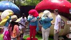 Six Flags Characters The Smurfs 2 Characters Smurfette Clumsy Papa Smurf At Six