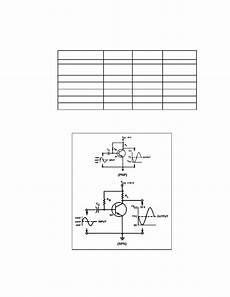 Transistor Configuration Comparison Chart Table 2 1 Transistor Configuration Comparison Chart