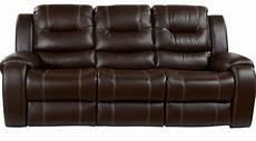 755 00 baycliffe brown reclining sofa contemporary
