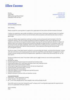 Cover Letters Administration Cover Letter Examples By Real People Service
