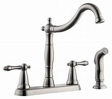 Kitchen Faucet With Sprayer Design House 523241 Oakmont 2 Handle Kitchen Faucet With