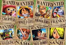 One Piece Wanted Poster Wanted Poster One Piece Wallpapers Wallpaper Cave