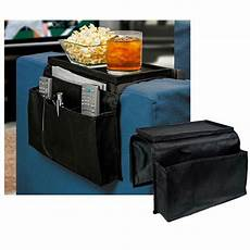 sofa arm rest organizer 5 pocket caddy tray remote