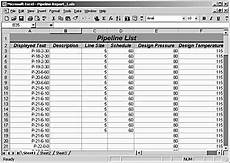 Valve Tag Chart Template Creating Pipeline Valve And Other Reports Microsoft