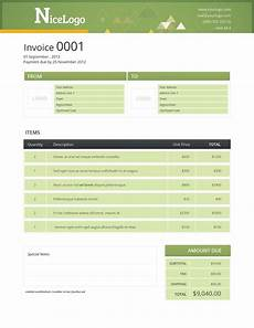 Free Html Invoice Template Html Invoice Template Free Download Invoice Example