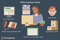 Skills For Administrative Assistant Office Assistant Skills List With Examples
