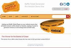 Online Raffle Ticket Generator Raffle Pick A Winner 7 Wordpress Raffle Ticket Generator