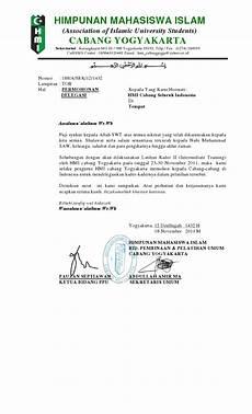 contoh surat delegasi lomba suratmenyurat net