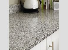 White Granite 20mm Worktop   Howdens Joinery