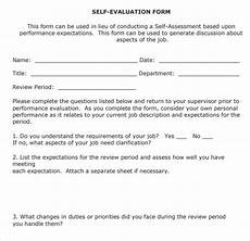 Employee Expectation List Sample Employee Review Template 7 Free Documents