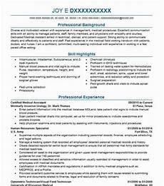 rma qualification certified medical assistant resume sample livecareer