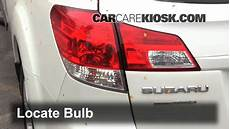 Subaru Outback Brake Lights Not Working Brake Light Change 2010 2014 Subaru Outback 2011 Subaru