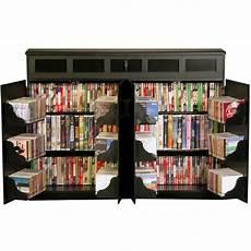 venture horizon top load cd dvd media storage cabinet in