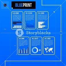 Horizontal Timeline Template Horizontal Timeline Template With Infographic Elements In