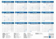 2020 Calendar With Holidays Printable Calendar 2020