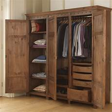 3 door wooden wardrobe with drawers revival beds