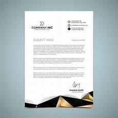 Letter Headed Design Golden Letterhead Design Download Free Vectors Clipart