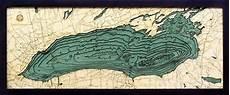 Lesser Lake Depth Chart 3d Lake Ontario Nautical Wood Map Depth Chart