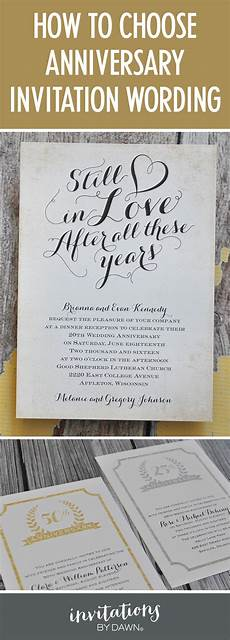 Invite To A Party Wording Finding The Right Wedding Anniversary Invitation Wording