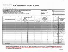 Schedule Of Values Template 09 Progress Payments Cm Ii