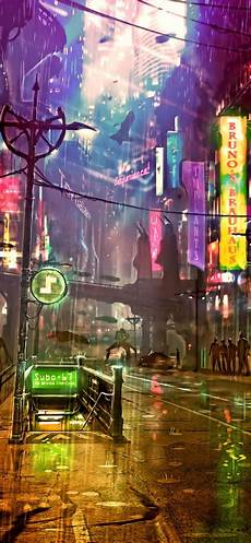 cyberpunk city iphone wallpaper iphone x 4k wallpapersfuturistic city cyberpunk neon