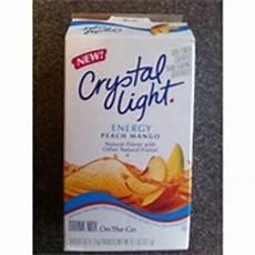 Crystal Light Energy Peach Mango Crystal Light Peach Mango Energy On The Go Drink Mix