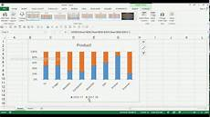 Excel 2013 Stacked Bar Chart How To Create 2d 100 Stacked Column Chart In Ms Excel