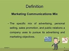 Integrated Marketing Communications Definition Integrated Marketing Communication