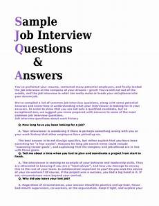 Sample Interview Job Interview Questions Google Search Sample Job