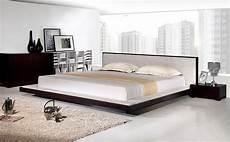 comfy modern platform bed