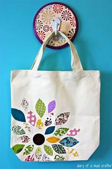 flower scrap fabric bag using heat n bond a tutorial
