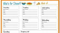 Meal Planner With Nutritional Information Meal Plan For Eating Disorder Recovery Detailed