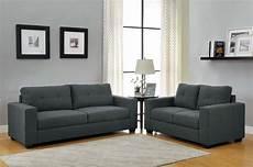 homelegance ashmont sofa set grey linen u9639 3