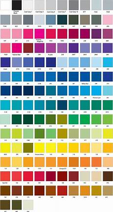 Hisandher Com Color Chart Colour Charts Qps Signage And Printing