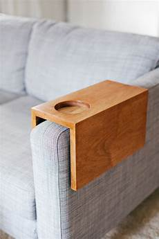 Sofa Arm Cup Holder 3d Image by Wooden Sofa Sleeve With Cup Holder A Beautiful Mess