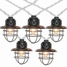 Caged Patio Lights Northlight 10 Black Metal Caged Fisherman Lantern Patio