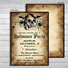 Free Printable Halloween Party Invitations For Adults Halloween Invitation Invitations Printable