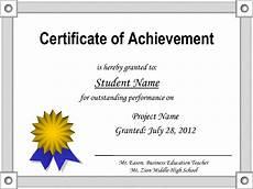 Certificates Of Achievement Free Templates Certificate Of Achievement Template E Commercewordpress