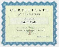 Diploma Samples Certificates Free Online Bible Classes Sample Certificate